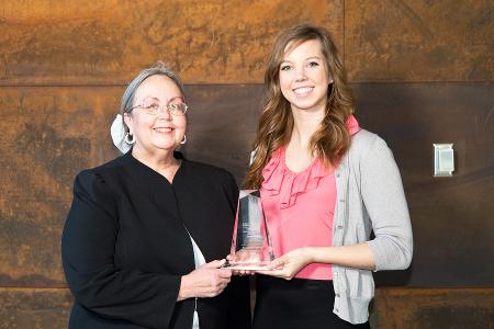 University of Minnesota Duluth Academic Excellence Award In Marketing 2015 Allie Hoffman Dean Hietapalto